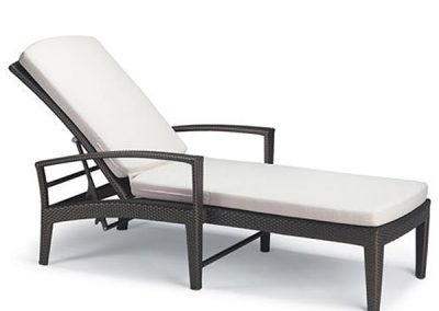 Synthetic Rattan Lounge